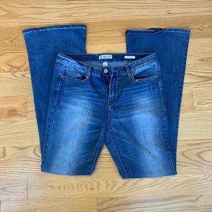 Vintage America Blue Flare Jeans Size 12